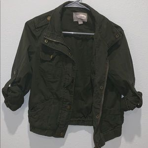 Dark green jacket by love21(forever21)